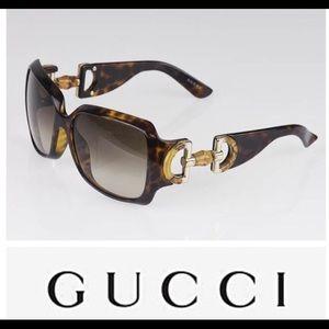 Authentic Gucci tortoise shell sunglasses
